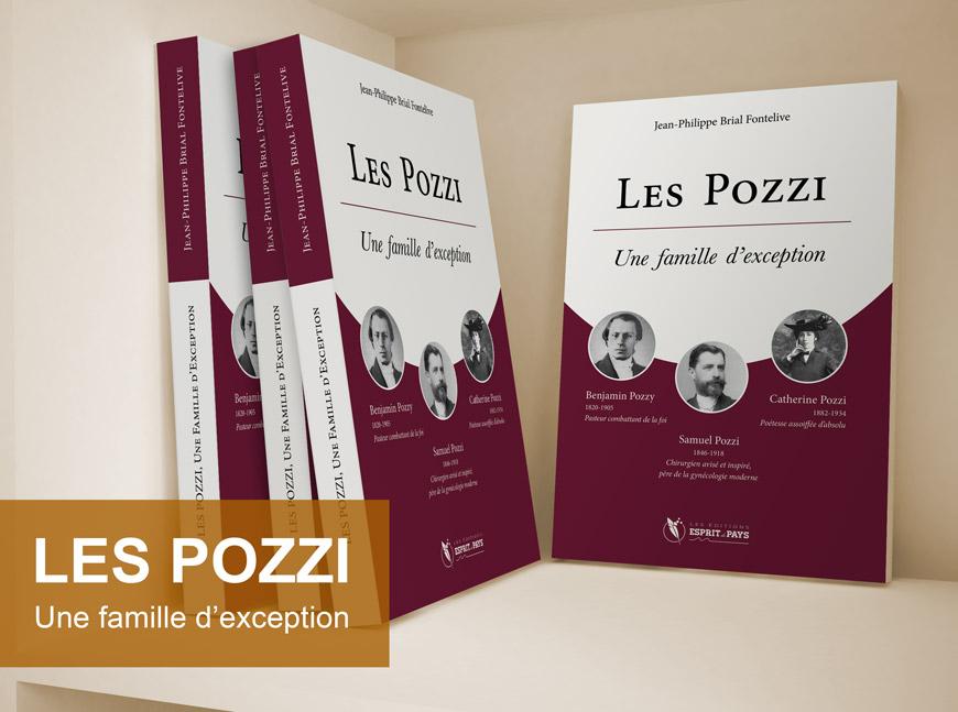 «Les pozzi, une famille d'exception », un livre de J.Ph. Brial, publié aux Éditions Esprit de Pays