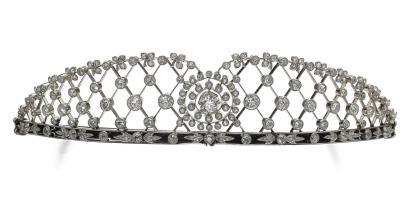 Tiare Diamants vers 1904 Crédit Sotheby's