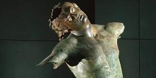 """""""Satyre Dansant""""Bronze Crédit Le Monde"""