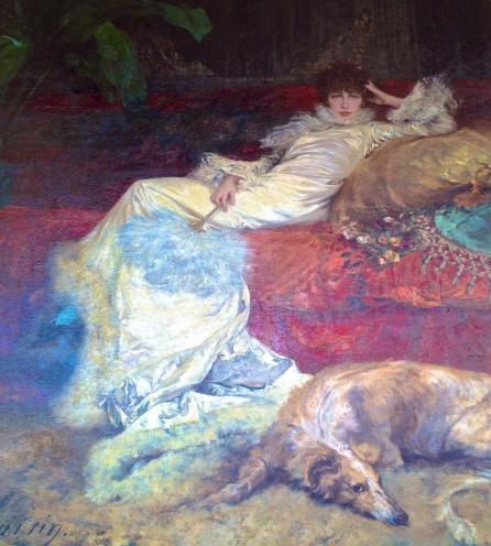 Georges Clairin portrait de Sarah Bernhardt