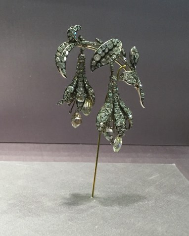 Broche Fuschia Or, Argent, Diamants Chaumet-Fossin Vers 1840 © Charlotte W