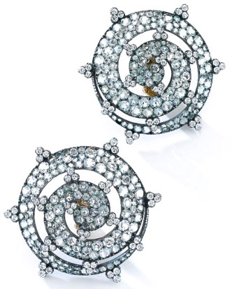 Boucles d'Oreilles Diamants Jar