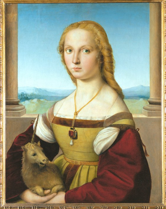 Lady with Unicorn. Ca. 1505-1506. ©Assouline