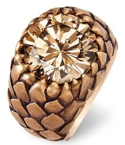 Bague Diamant, Bronze, Or © Hemmerle