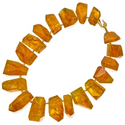Collier Tony Duquette Citrines