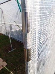 Pinces de protection en métal pour éviter que la poignée ne frotte