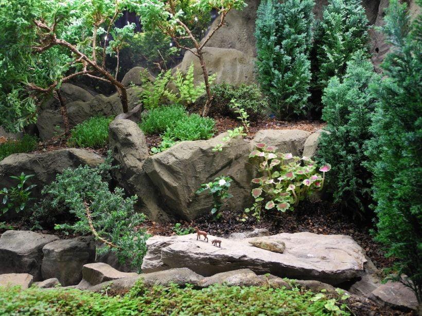 paysage miniature