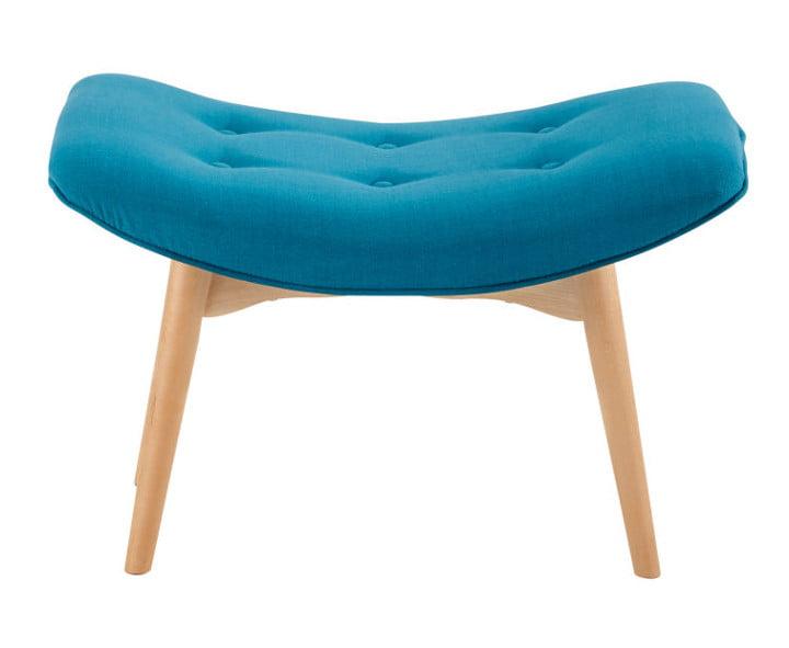 pouf repose pieds pour apporter un style moderne et scandinave au salon