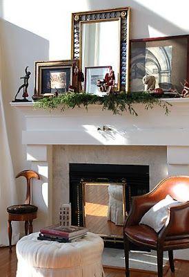 décoration de cheminée