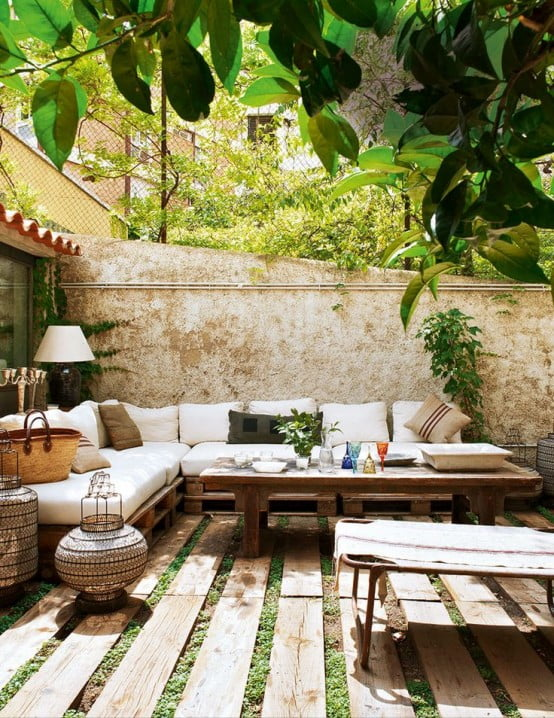 10 idées de salon de jardin