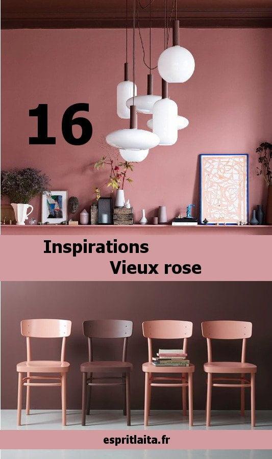 16 idées vieux rose pour la maison