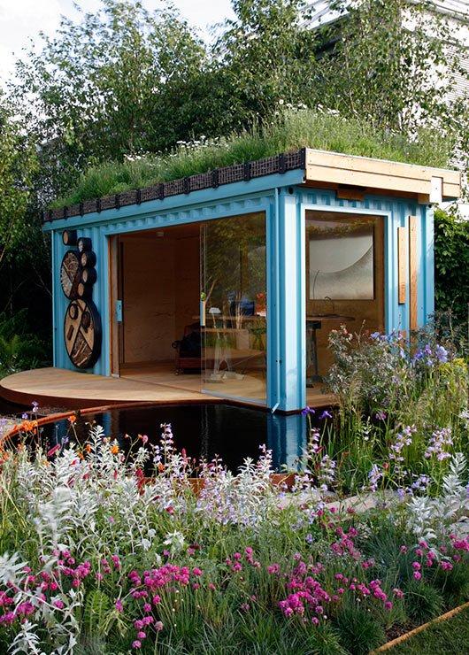 GreenRoofShelters - Bureau à la maison