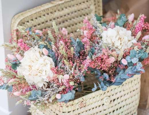 Bouquet fleurs séchées Flowrette