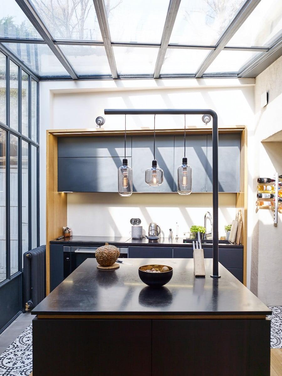 cuisine en véranda - Photo Kevin Dolmaire