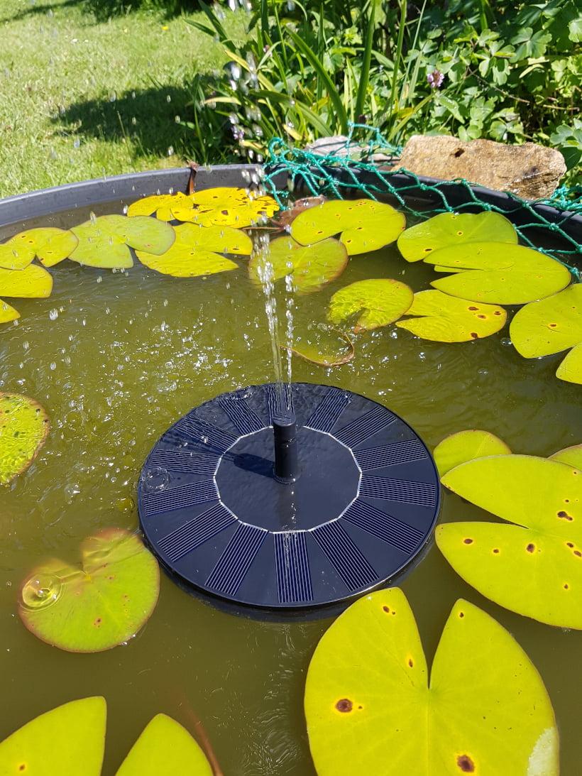 jet d'eau solaire