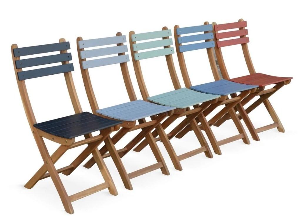 chaises extérieurs