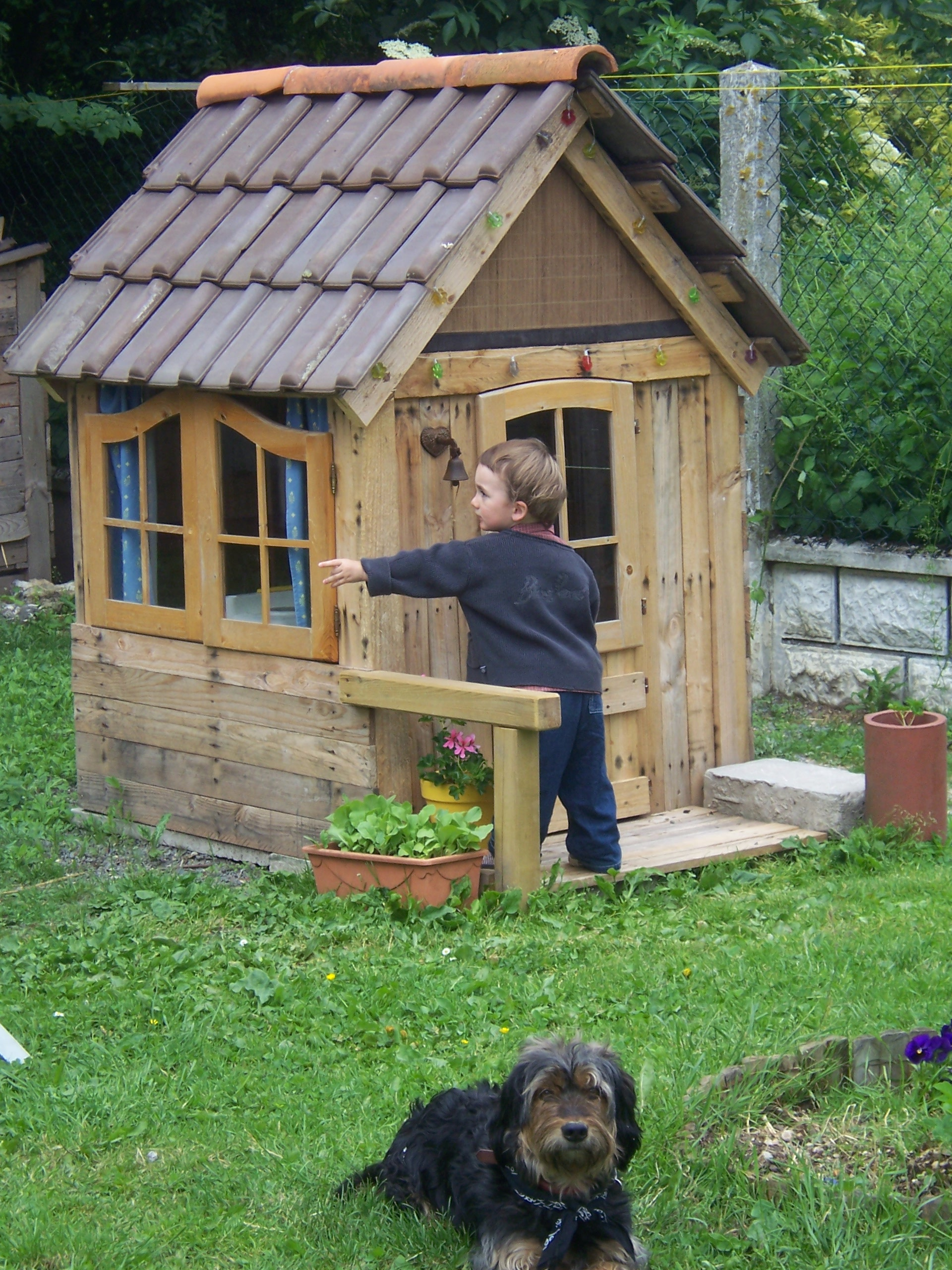 Cabane Pour Enfant Esprit Rcup Meubles Dco Cabanes