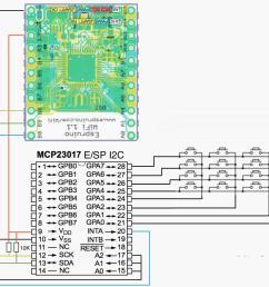 mcp23017 a i2c 4x4 keypad jpg mcp23017 e sp i2c jpg [ 1791 x 1440 Pixel ]