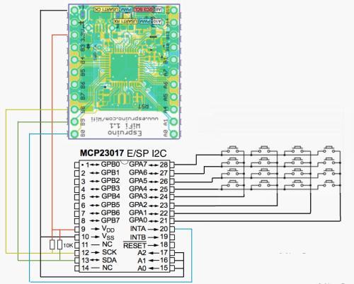 small resolution of mcp23017 a i2c 4x4 keypad jpg mcp23017 e sp i2c jpg