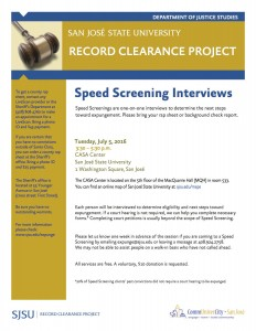 Speed Screening July 5-English