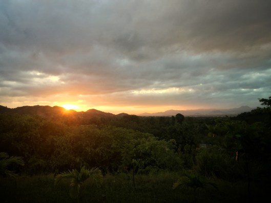 Sunrise in Haiti