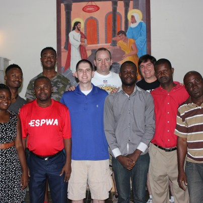 Espwa project liaisons and translators with the team