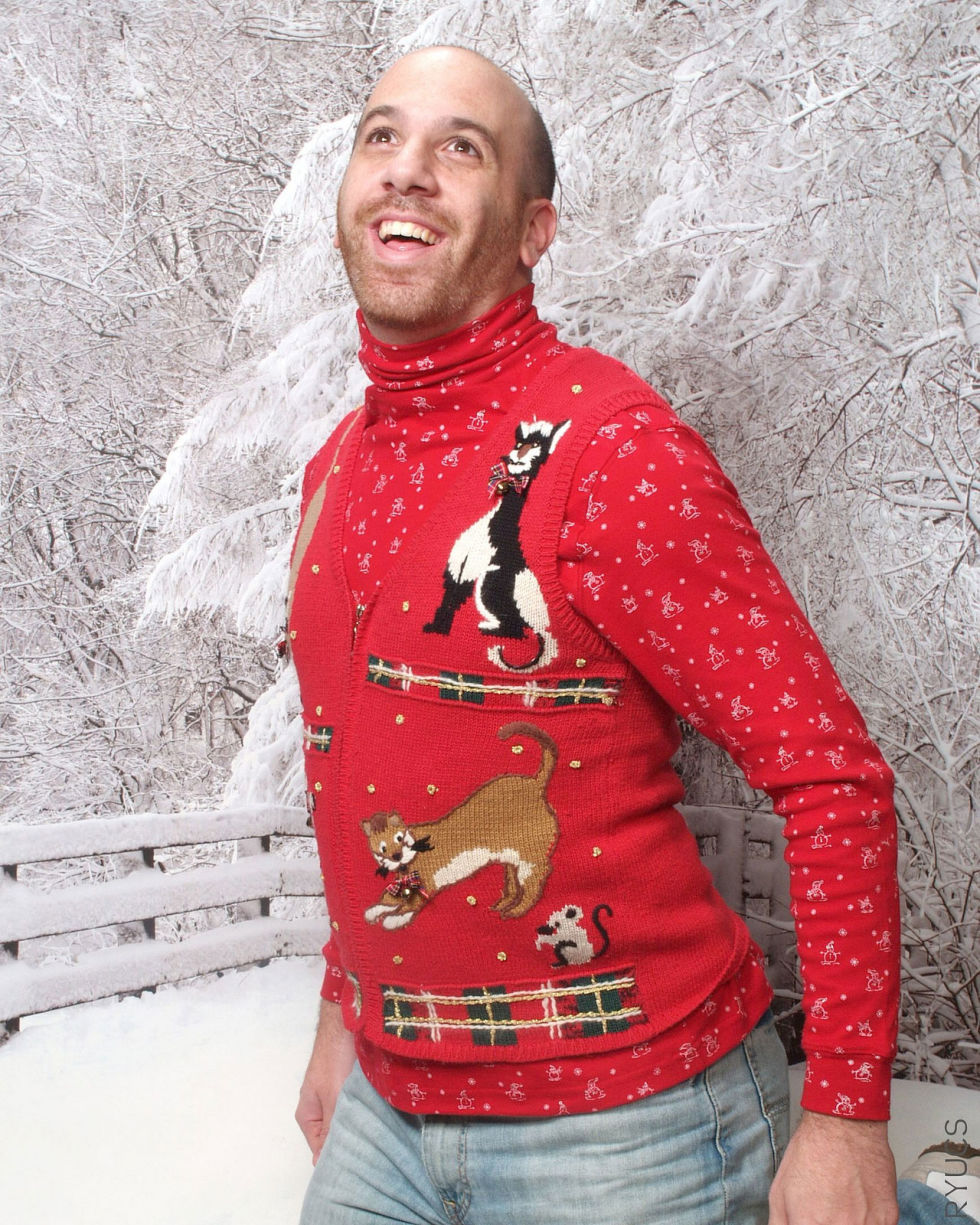 Image result for ugly christmas sweater
