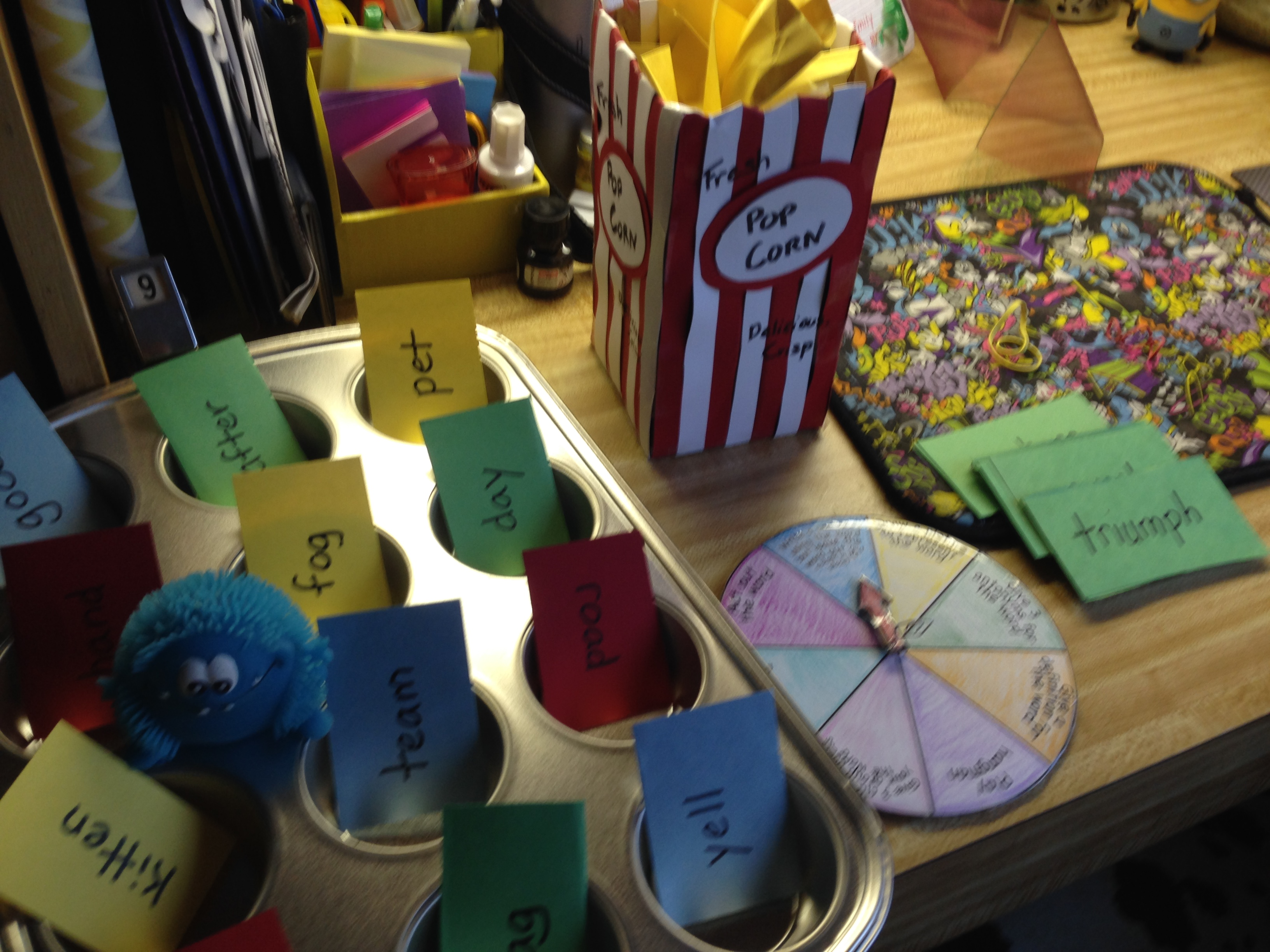 My First Workstations Vocabulary Activities For