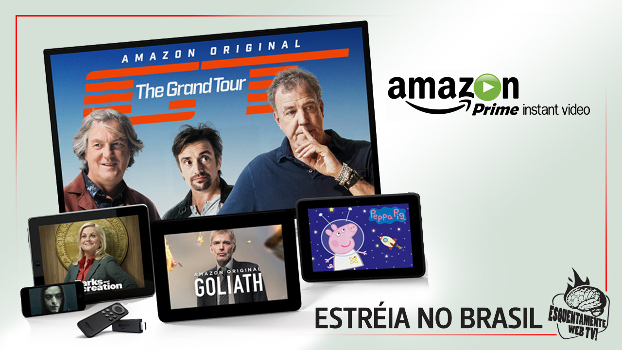 Amazon Prime Vídeo chega ao Brasil