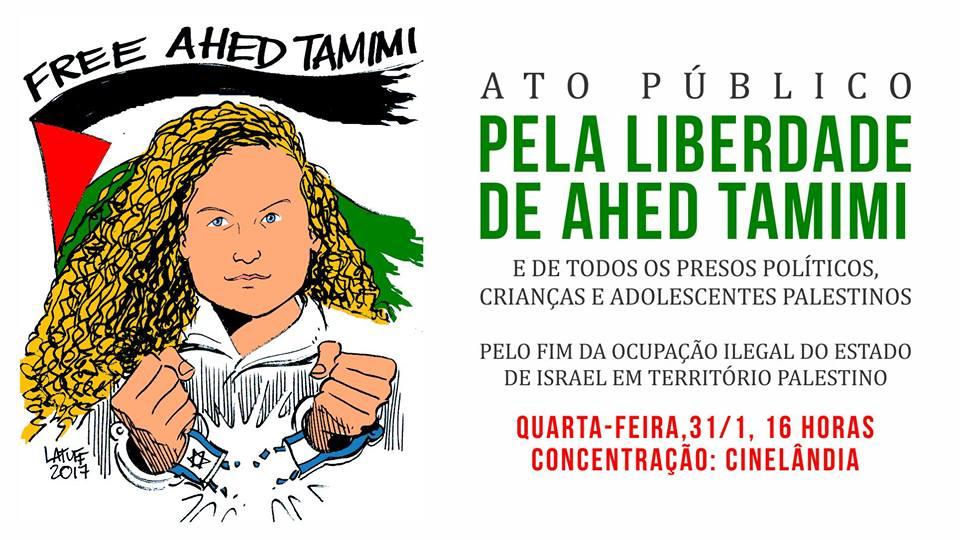 Liberdade para Ahed Tamimi