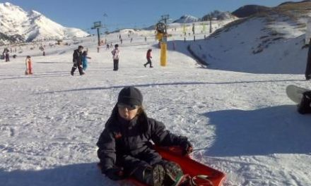 Como iniciar a los niños en el esquí