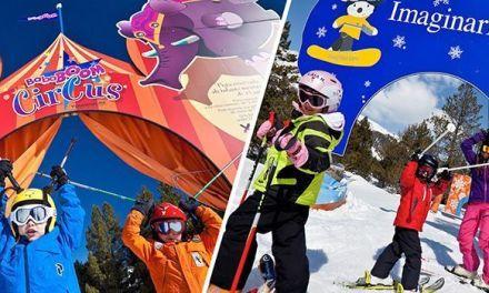 Pistas Temáticas para Esquiar por Niños