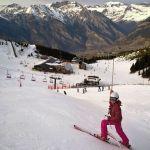 Aramon Cerler Esquia Con Peques