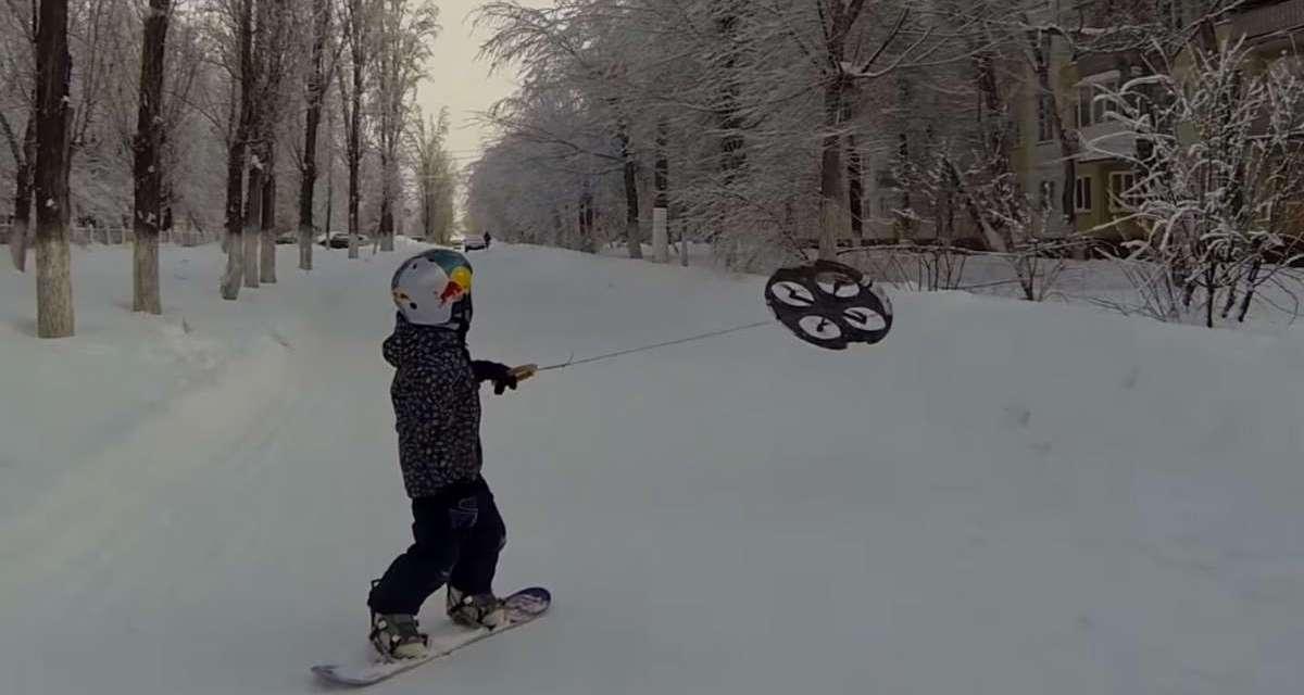 Video – Nuevo Deporte ¿Drone-Boarding?