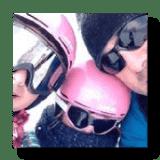Nieve Aventura Esquiadores Niños
