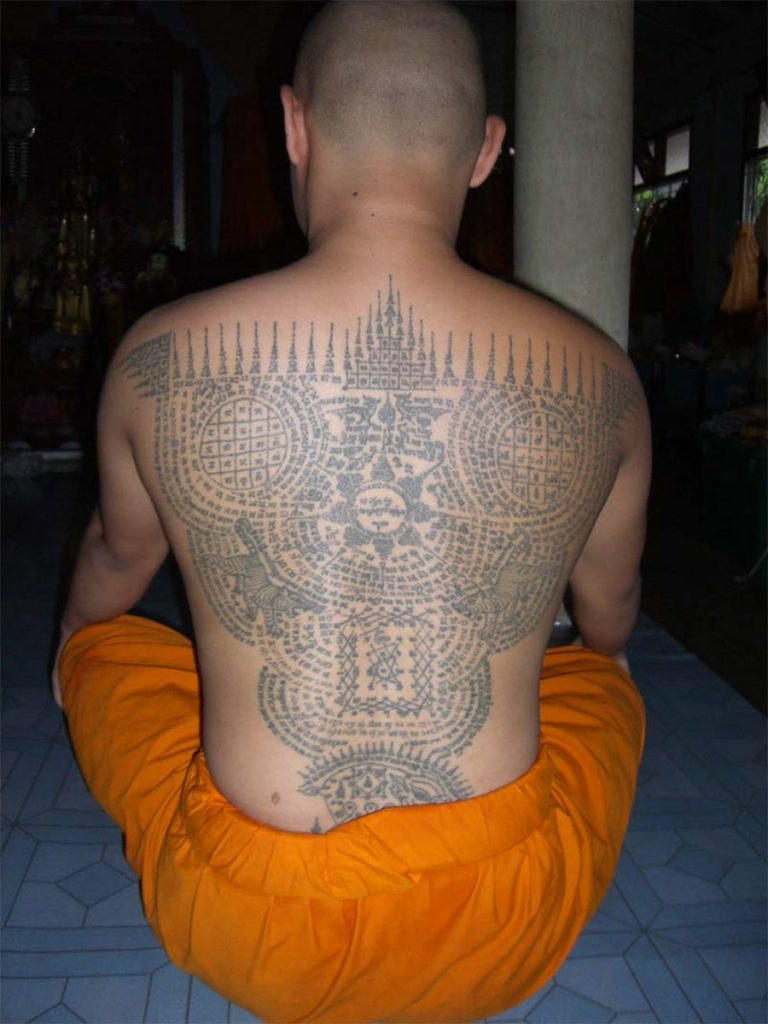 Tatuajes Sak Yant Y Muay Thai Magia Y Tradición Esquina Thai