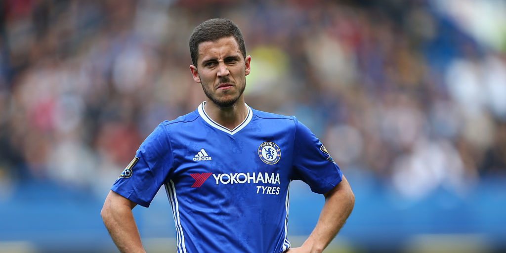 Watch Eden Hazard Taunt His 3 Year Old Son At The End Of