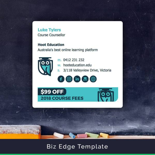 Email Signature Templates - Easy Create And Install