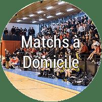Matchs à domicile
