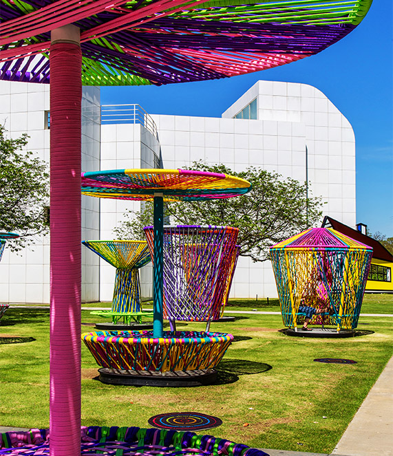 Los Trompos / High Museum of Art, Atlanta, Georgia, USA / 2015