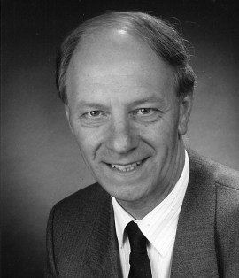 Professor L.C. Hunter, former ESRC council member
