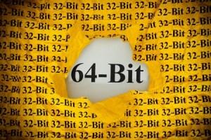 32bit versus 64bit
