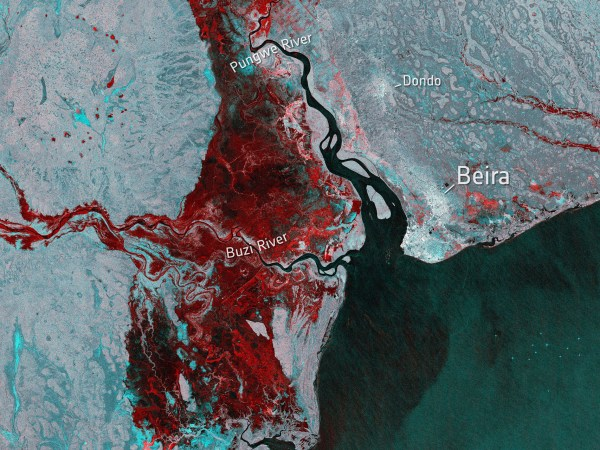Cyclone Idai – The Mozambique Floods 2019