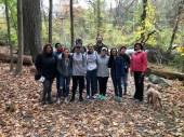 Rockefeller State Park hike