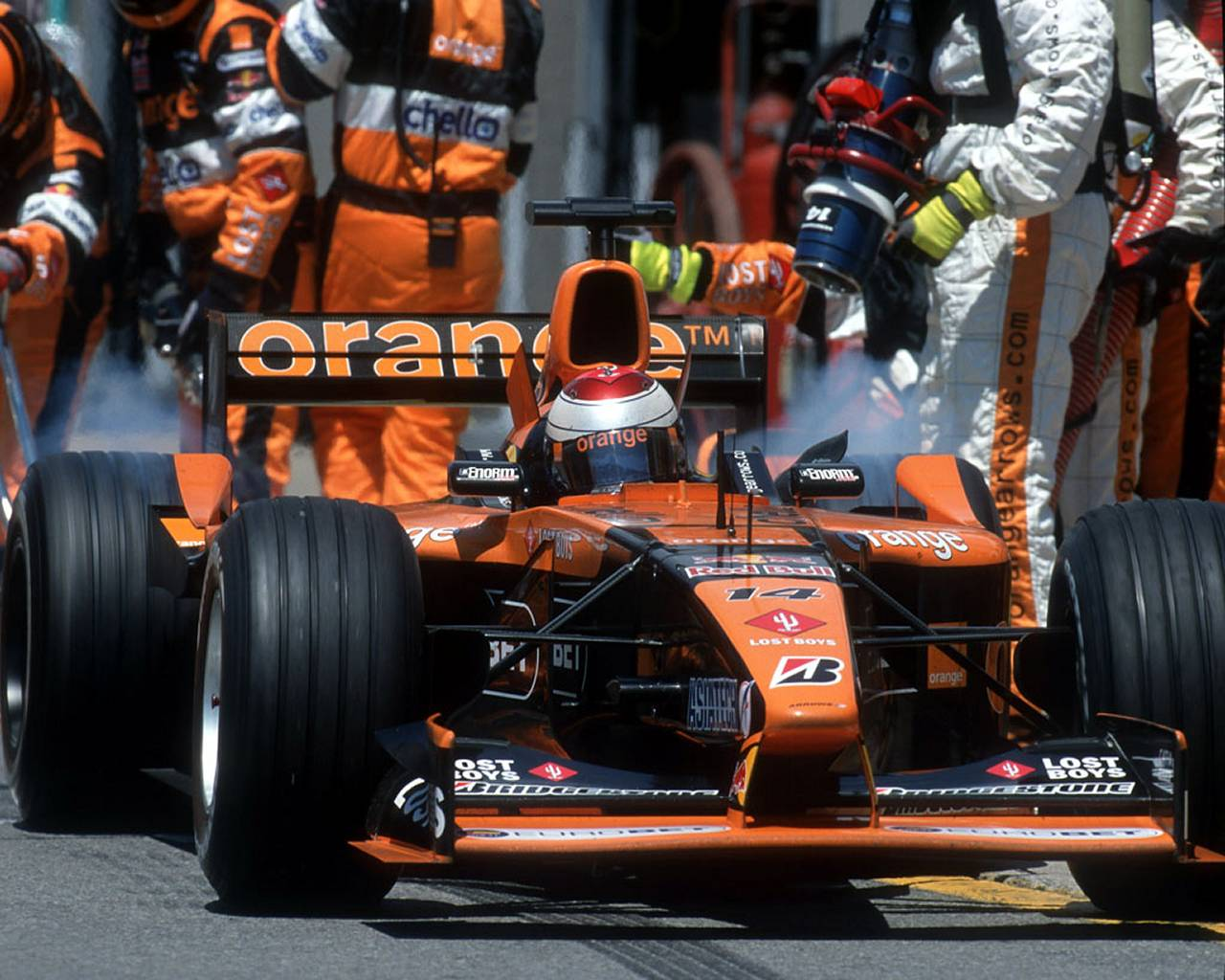 F1: The Demise of Arrows Grand Prix & TWR - essaar co uk