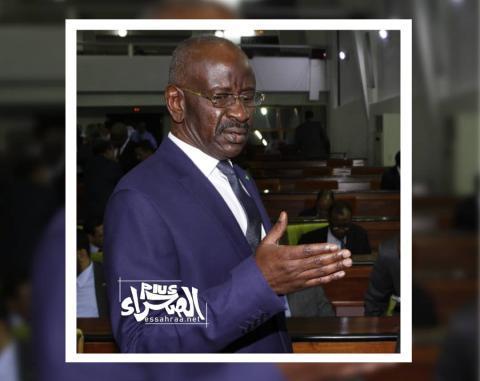 وزير الداخلية محمد سالم ولد مرزوك (ارشيف - الصحراء)