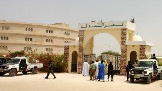 قصر العدل في نواكشوط - أرشيف