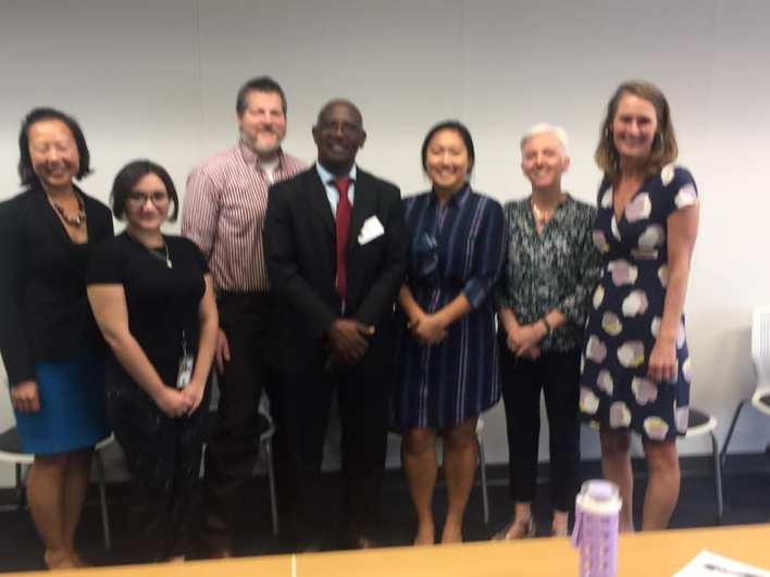 المشاركون في الاجتماع بوزارة العمل الأمريكية حول وضعية حقوق الإنسان بموريتانيا