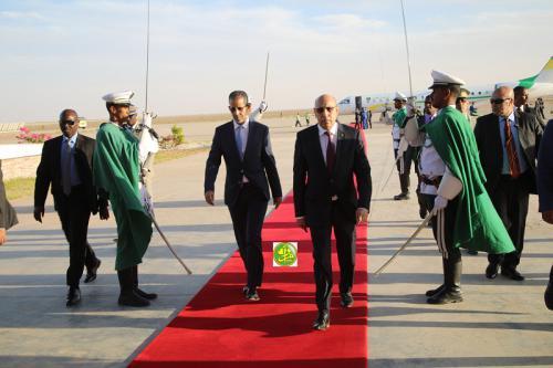 الرئيس محمد ولد الشيخ الغزواني / (المصدر:وما)