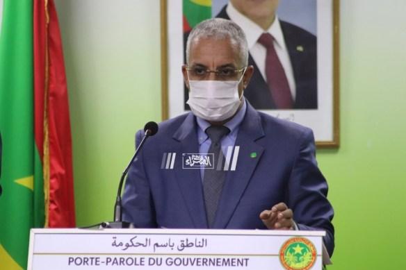 الناطق الرسمي باسم الحكومة المختار ولد داهي- المصدر (الصحراء)